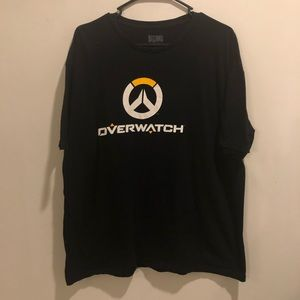 Blizzard Overwatch video game graphic tee black